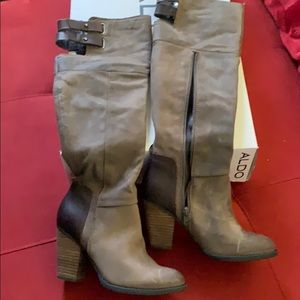 Boots- brown tall